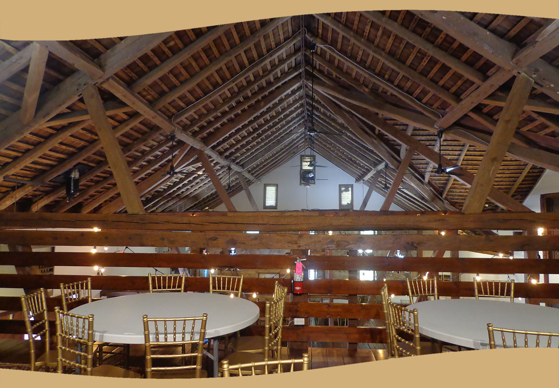 Three Gables Barn Loft Area