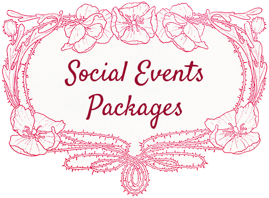 Social Events Packages Button